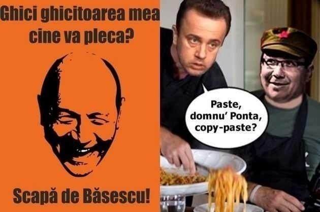 PROPAGANDA LUI BASESCU VS PROPAGANDA USL (y compris Antena 3)