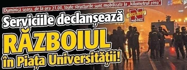 "RISC DE ""RAZBOI CIVIL"" IN PIATA UNIVERSITATII DUPA REFERENDUM?/ Ticalosia Europei, dictatul cvorumului, schizofrenia boicotului si DEMNITATEA VOTULUI"