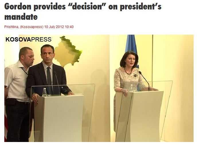 """Philip Gordon, emisarul SUA trimis in Bucuresti dupa ce a facut ORDINE SI DISCIPLINA IN KOSOVO, intervenind pentru PRESEDINTELE """"ALES"""" DE AMERICANI"""