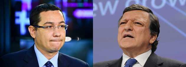 Al doilea DIKTAT EUROPEAN in favoarea lui Traian Basescu. BARROSO, COMISARUL-SEF EUROPEAN,  PRESEAZA PENTRU INVALIDAREA REFERENDUMULUI