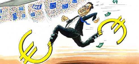 """Super Mario"" DA DRUMUL LA TIPARNITA si afirma ""IREVERSIBILITATEA"" MONEDEI EURO. Hiperinflatie? Mai degraba HIPER-AUSTERITATE si dictatura financiara"