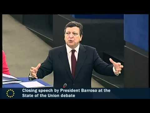 Barroso: <i>UE TREBUIE SA DEVINA O FEDERATIE</i>. Nu e de ajuns cedarea de suveranitate economica, UE vrea sa IA DECIZII POLITICE IN LOCUL STATELOR NATIONALE. Madam Reding ii tine isonul si vrea sa dicteze total in JUSTITIE