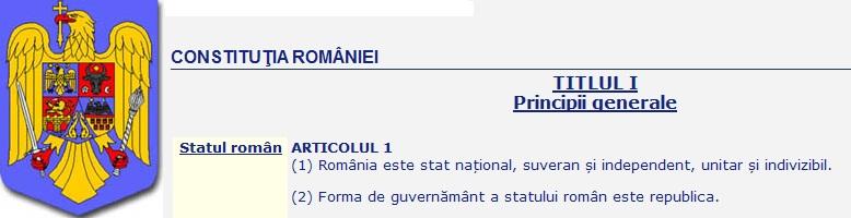UDMR vrea modificarea Constitutiei in 2013 pornind de la ARTICOLUL PRIVIND STATUL NATIONAL