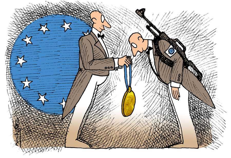 """Lupta pentru pace"", in sfarsit premiata! UNIUNEA EUROPEANA, PREMIUL NOBEL PENTRU PACE"