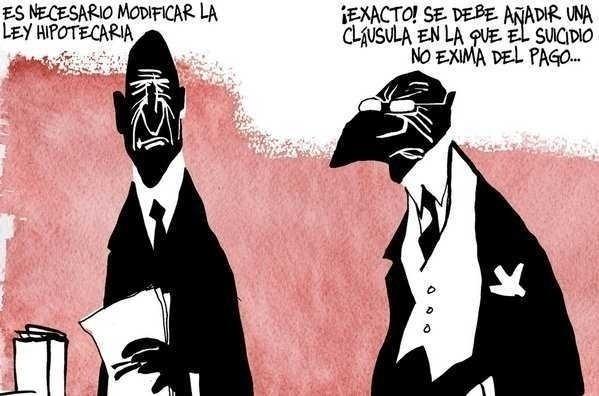 <b>SPRE FASCISM BANCAR</b>. VAL DE EVACUARI SILITE in masa si de SINUCIDERI in Spania din cauza crizei creditelor ipotecare