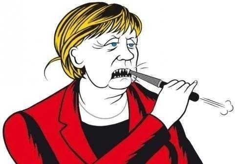 MERKIAVEL: abilitatea machiavelica de a construi EUROPA GERMANA prin NEOLIBERALISM extrem si DEFORMAREA democratiei