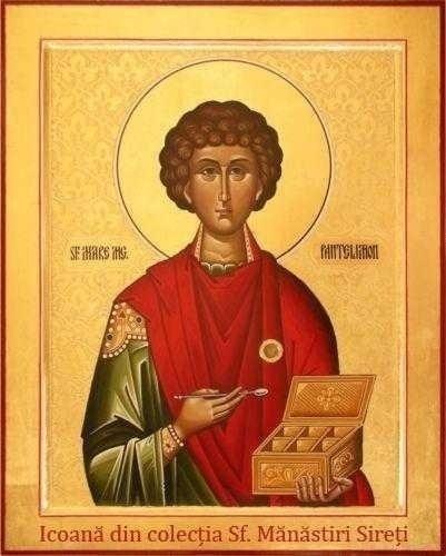 MOASTELE SFANTULUI PANTELIMON realizeaza vindecari celor credinciosi si intr-o BISERICA DIN BAIA MARE