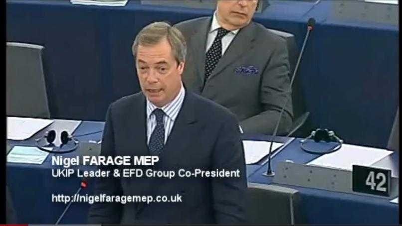 "<b>Nigel Farage la <i>""Secvential""</i></b> (video): ROMANI, TOCMAI ATI RENUNTAT LA INDEPENDENTA SI V-ATI VANDUT DEMOCRATIA, INTRAND IN U.E.! Ce ne asteapta in 2013?"
