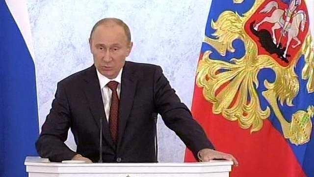 Putin intareste ORIENTAREA CONSERVATOARE a Rusiei