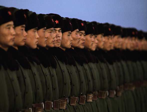 CHINA ISI PREGATESTE ARMATA de un eventual razboi cu Japonia