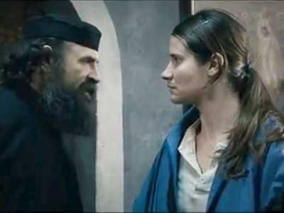 "update – <b>Parintele Savatie Bastovoi despre filmul <i>DUPA DEALURI</i></b>: <i>""poveste romaneasca de lesbianism cu sfirsit tragic""</i> care da <i>""imaginea unei Romanii ortodox-handicapate""</i>"