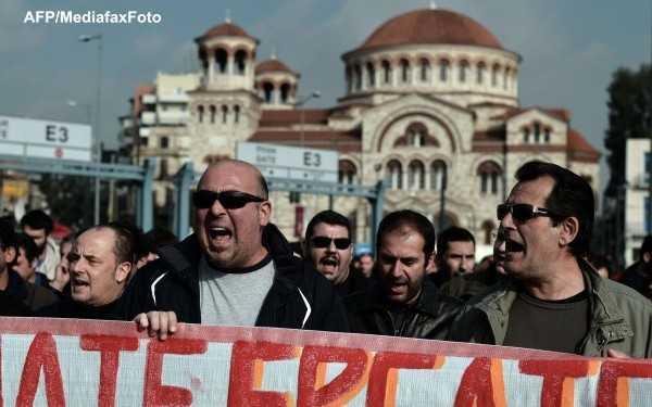 Greva generala in Grecia/ GUVERNUL BULGAR al fostului bodyguard Borisov A DEMISIONAT in urma REVOLTELOR provocate de DUBLAREA PRETURILOR LA ENERGIE!