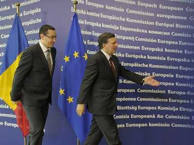Victor-Viorel Ponta, Prime Minister of Romania,  was received by JosŽ Manuel Barroso, President of the EC
