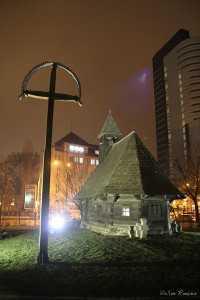 Crucea-si-Bisericuta-de-la-Muzeul-Taranului-Roman
