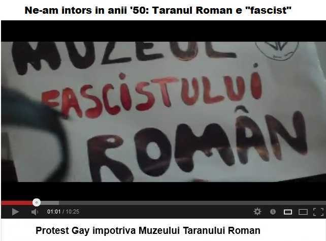 Protestul-homosexualilor-impotriva-Muzeului-Taranului-Roman