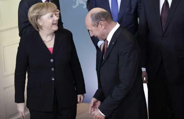 Traian+Basescu+MERKEL