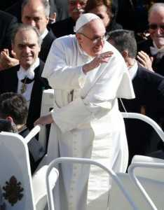 PAPA Francisc megastar