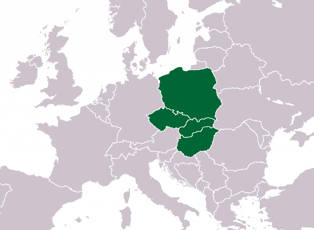 Map_of_Visegrad_Group