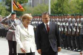 Merkel Orban armata