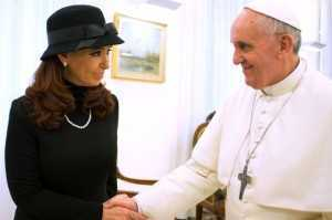 Pope Francis and Cristina Fernandez de Kirchner-1771979