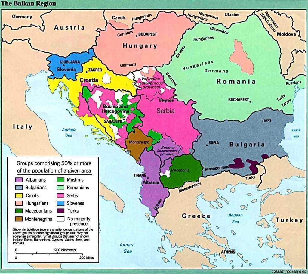 BALCANII, INCA O DATA BUTOIUL CU PULBERE AL EUROPEI? Scenariul RAZBOIULUI BALCANIC, repus pe tapet de Rusia