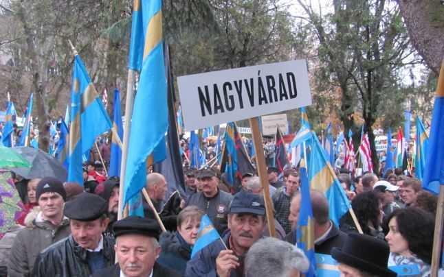 miting autonomie maghiari Targu Mures