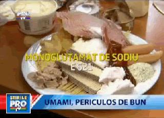 """<b>Glutamatul de sodiu</b> – aditivul nociv care ne face dependenti alimentar si ne imbolnaveste grav: UMAMI, AL CINCILEA GUST (Documentar <i>""""Romania, te iubesc""""</i>, VIDEO)"""