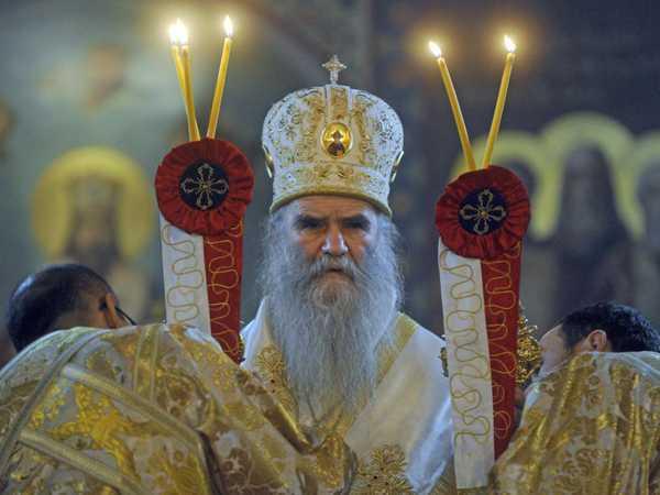 """MITROPOLITUL AMFILOHIE AL MUNTENEGRULUI, membru al delegatiei Patriarhiei Serbiei, declara ca nici el nu a semnat documentul ecumenist <i>""""RELATIILE BISERICII ORTODOXE CU ANSAMBLUL LUMII CRESTINE""""</i>"""