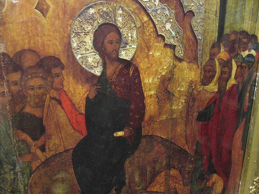LACRIMILE LUI HRISTOS si invierea lui Lazar/ INTRAREA IN IERUSALIM: <b>refuzul puterii si marturisirea credintei</b>