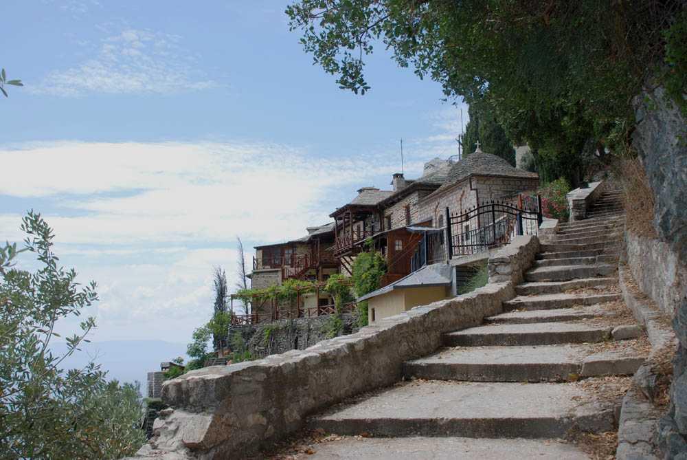 SEMNUL PREVESTITOR de la schitul Sfanta Ana din MUNTELE ATHOS s-a REPETAT