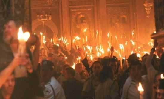 LUMINA SFANTA S-A COBORAT SI IN ACEST AN (2013) LA IERUSALIM <i>(VIDEO)</i>