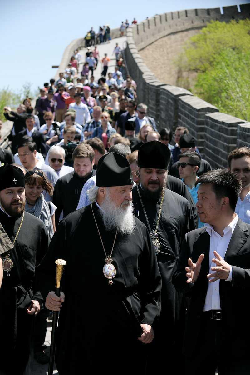 Patriarhul Kirill: <i>Rusia si China ar trebui sa actioneze impreuna pentru viitorul lumii</i>