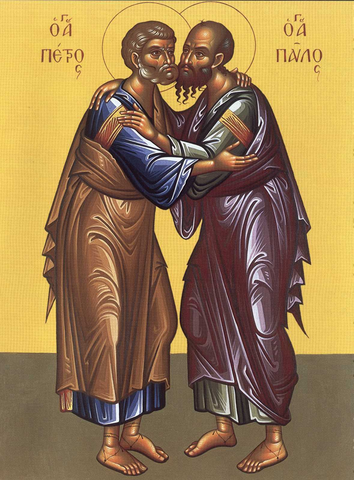 VIATA SI MUCENICIA SFINTILOR APOSTOLI PETRU SI PAVEL