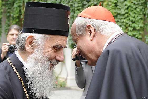 Serbisch-orthodoxer Patriarch Irinej zu Gast bei..