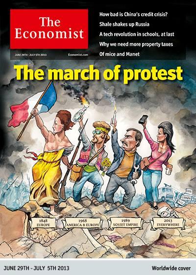 update – Coperta <i>The Economist</i>: MARSUL PROTESTELOR A CUPRINS INTREAGA LUME