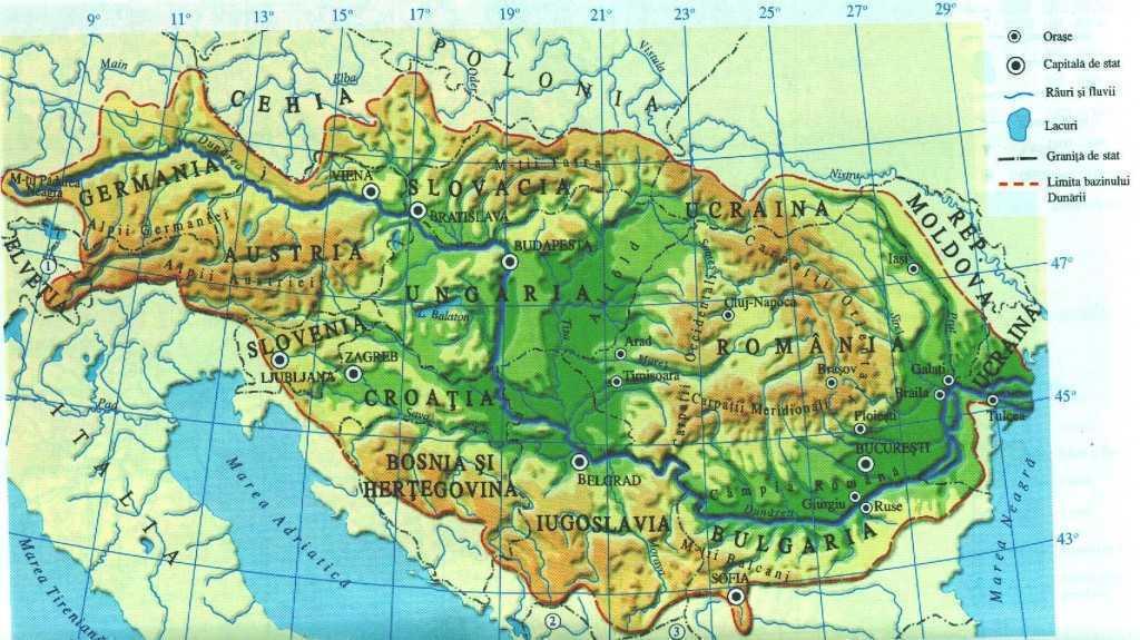 bazinul dunarii