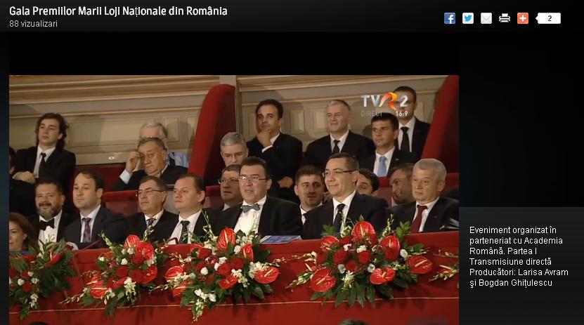 """MASONERIA MONDIALA E LA BUCURESTI. <i>Gala premiilor masonice</i>, demonstratie de forta organizata de sinistrul """"mare orator"""" REMUS BORZA et co. impreuna cu Academia Română, transmisa live la TVR 2! MASONERIA STAPANESTE ROMÂNIA…"""