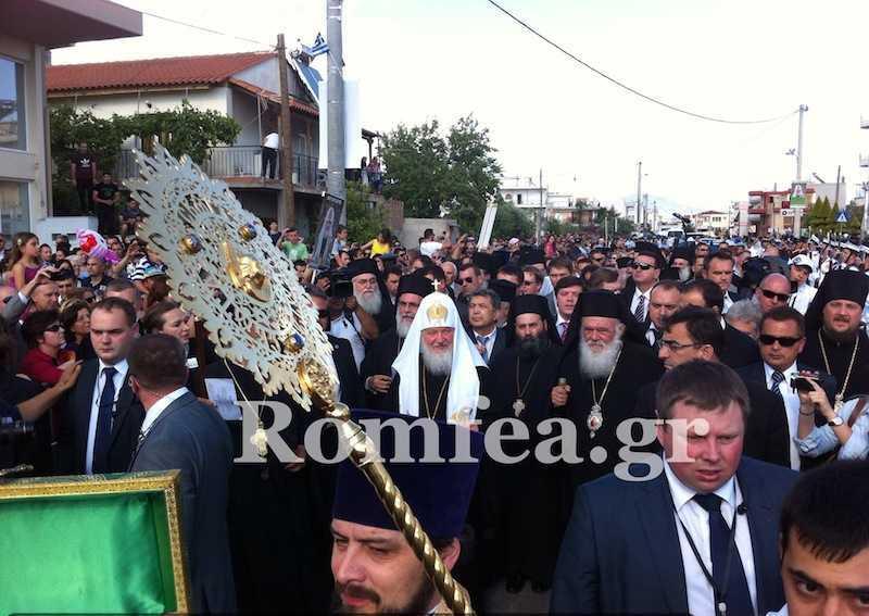 Patriarhul KIRILL viziteaza GRECIA si Muntele Athos [video+foto]