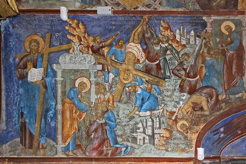 moartea muceniceasca a Sfintilor Apostoli Petru si Pavel