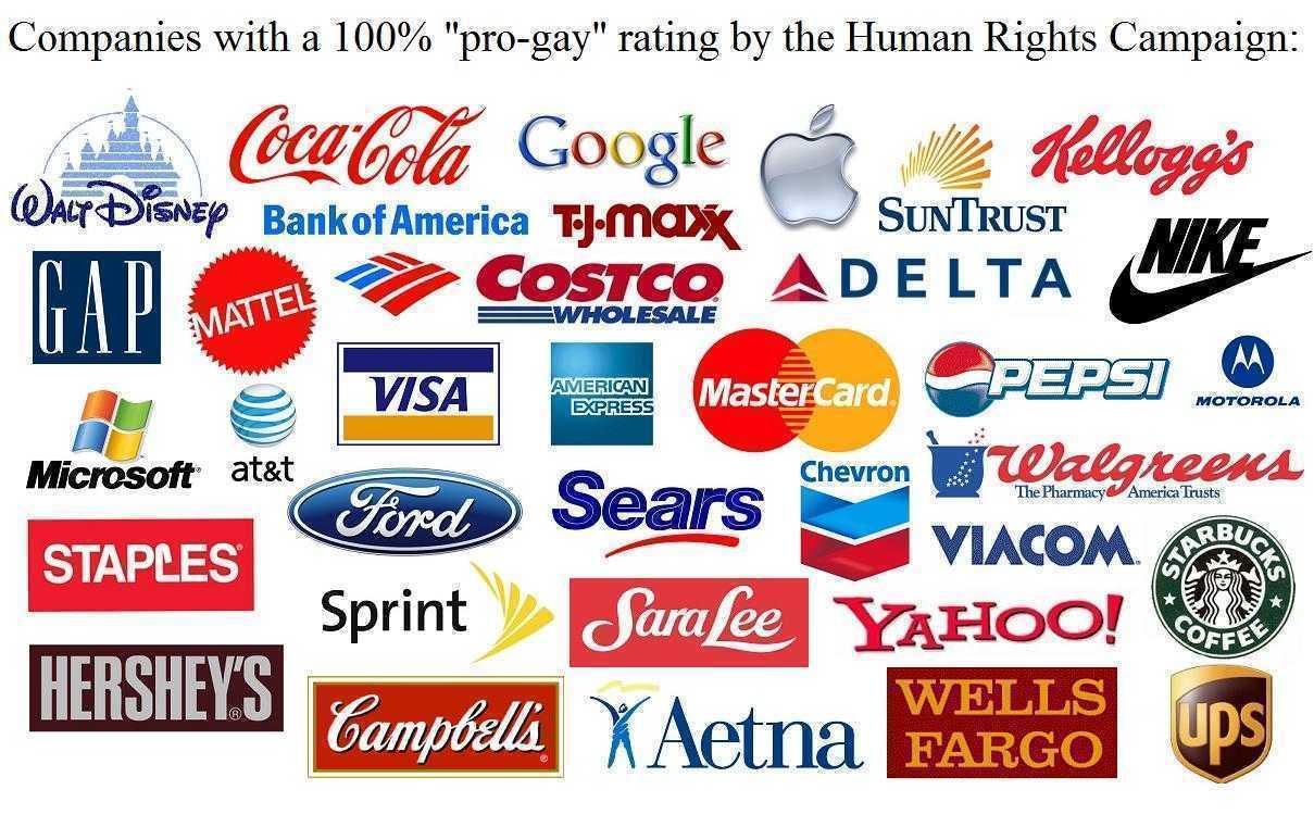 """SUA: <i>MARILE CORPORATII UNITE PENTRU OBTINEREA CASATORIILOR HOMOSEXUALE.</i> Facebook, Google, Morgan Stanley, Goldman Sachs, Coca-Cola si multe altele, """"intamplator"""" conexate in reteaua BILDERBERG"""