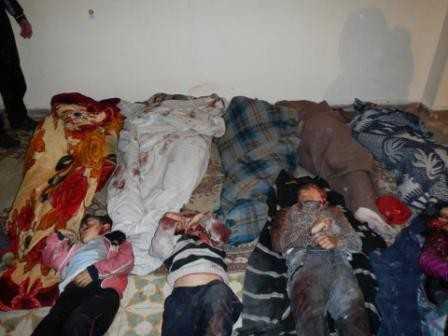 Rebelii sirieni sprijiniti de SUA au MASACRAT un SAT CRESTIN