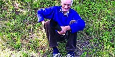 Vasili Kukac (70 de ani), unul dintre localnicii din Moraţa