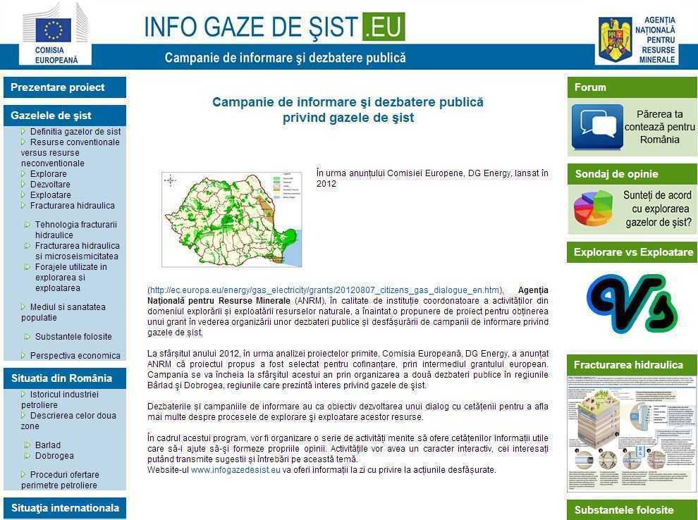 Agentia Nationala pentru Resurse Minerale (ANRM), tranformata in <b>biroul de PROPAGANDA AL CHEVRON</b>. Pe bani europeni! <i>CONTAMINARE PRIN MANIPULARE</i>