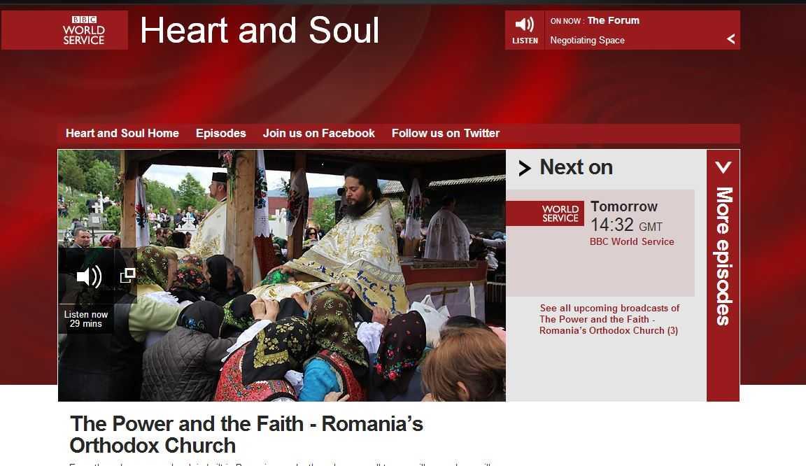 BBC ATACA BISERICA ORTODOXA ROMANA PENTRU CONSTRUCTIA DE BISERICI