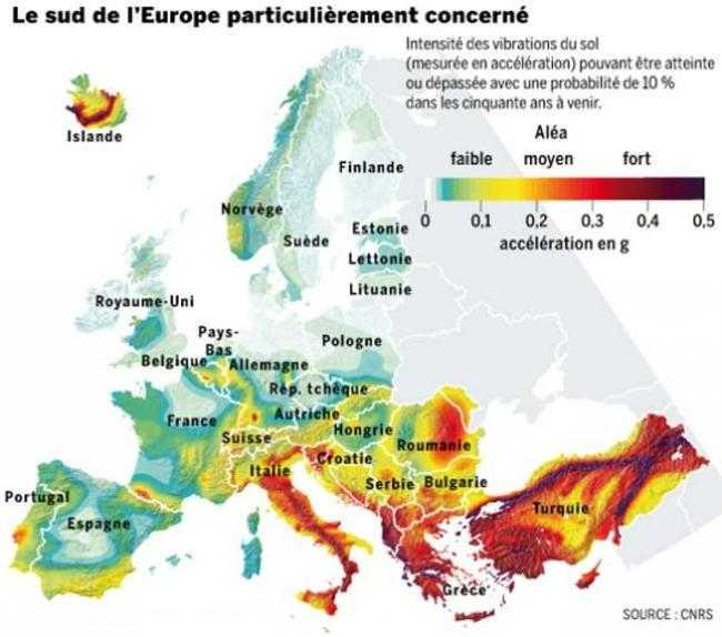 SEISME FARA PRECEDENT AMENINTA EUROPA. Romania este pe harta de RISC MAXIM