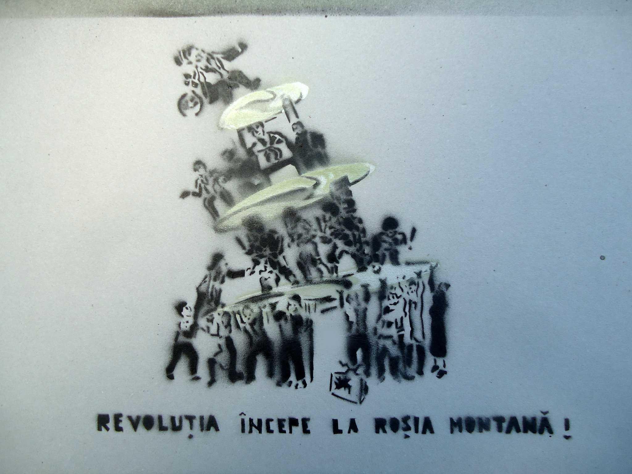 """""""Revolutia"""" anarhistilor si activistilor ecologisti incepe pe 1 septembrie. Pentru ROSIA MONTANA SI GAZELE DE SIST"""