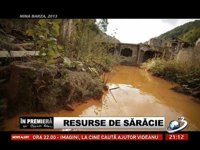 """<i>""""RESURSE SARACE""""</i>. Reportaj <i>In Premiera</i> (VIDEO+TRANSCRIPT) despre cum au ajuns pe mana SPIONILOR SI STRAINILOR INFORMATIILE CLASIFICATE DESPRE ZACAMINTELE IMPORTANTE ALE ROMANIEI. <b><i>""""Dam cupru, dam aur, dam tot, şi Romania o vindem la pachet""""</i></b>"""