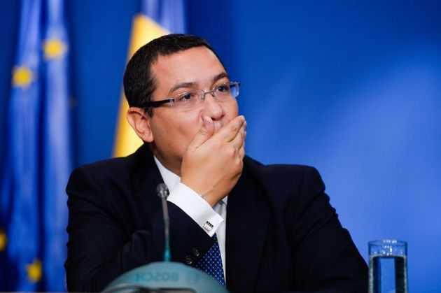 <B>PROIECTUL ROSIA MONTANA RESPINS, sub presiunea demonstratiilor!</B> Ponta invinovateste protestatarii pentru PLATA DESPAGUBIRILOR