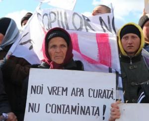Pungesti protest 19 oct