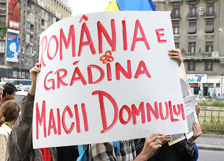 "<b>Mai poate fi numita Romania <i>Gradina Maicii Domnului?</b> ""INCA NE MAI TINE DUMNEZEU, DAR PANA CAND?""</i>"
